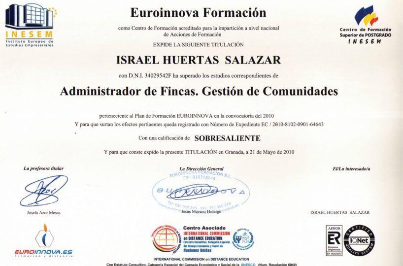 Administrador de Fincas en Nerja y Torrox